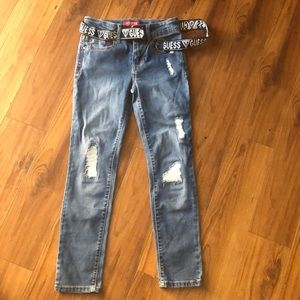 GUESS size 8 girls jeans